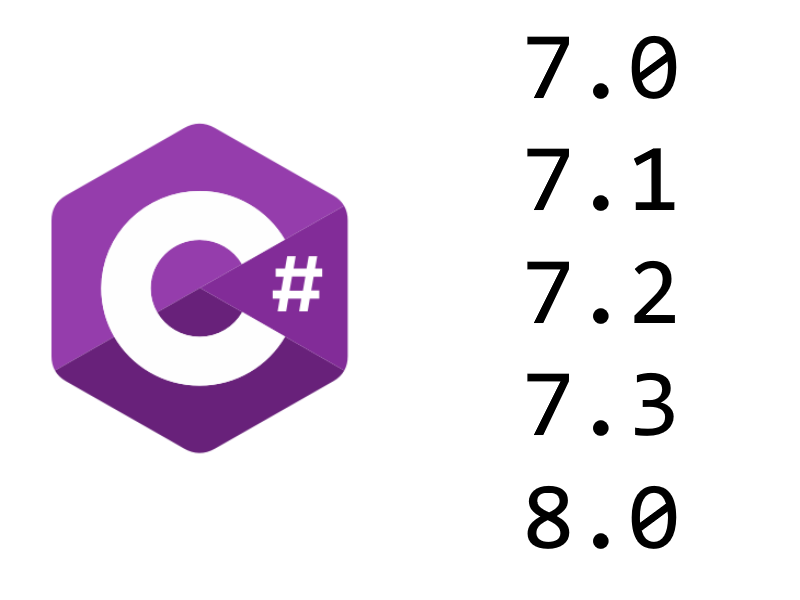 What's new in C# 7.x and 8.0 preview